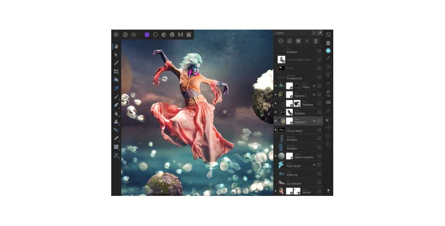 Serif adds slew of features to Affinity Photo for iPad