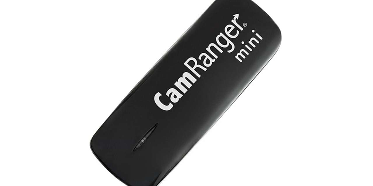 Enhanced live view and control with the CamRanger MINI
