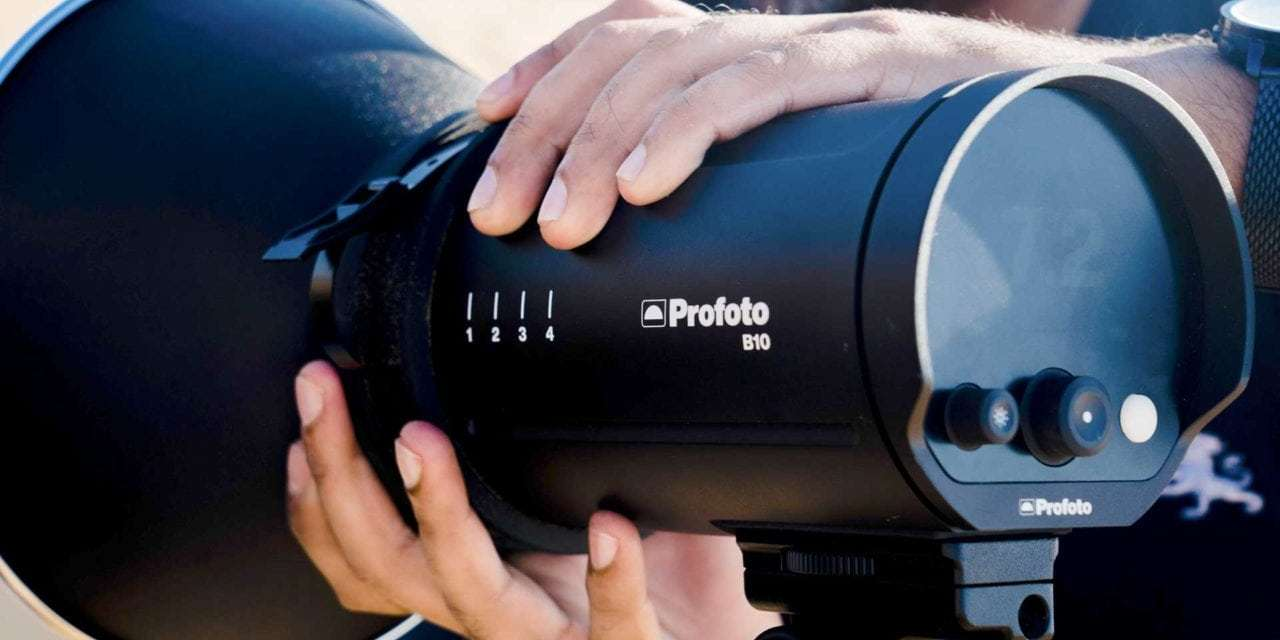 Profoto B10 Announced