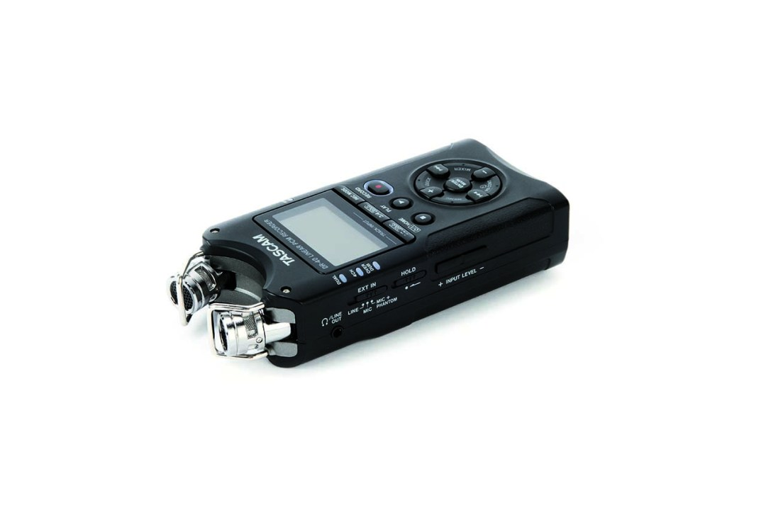 Using separate audio recorders