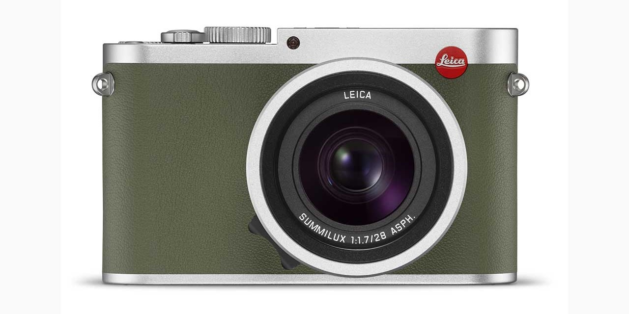 Leica launches Q Khaki edition
