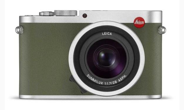Leica launches Q Khaki edition