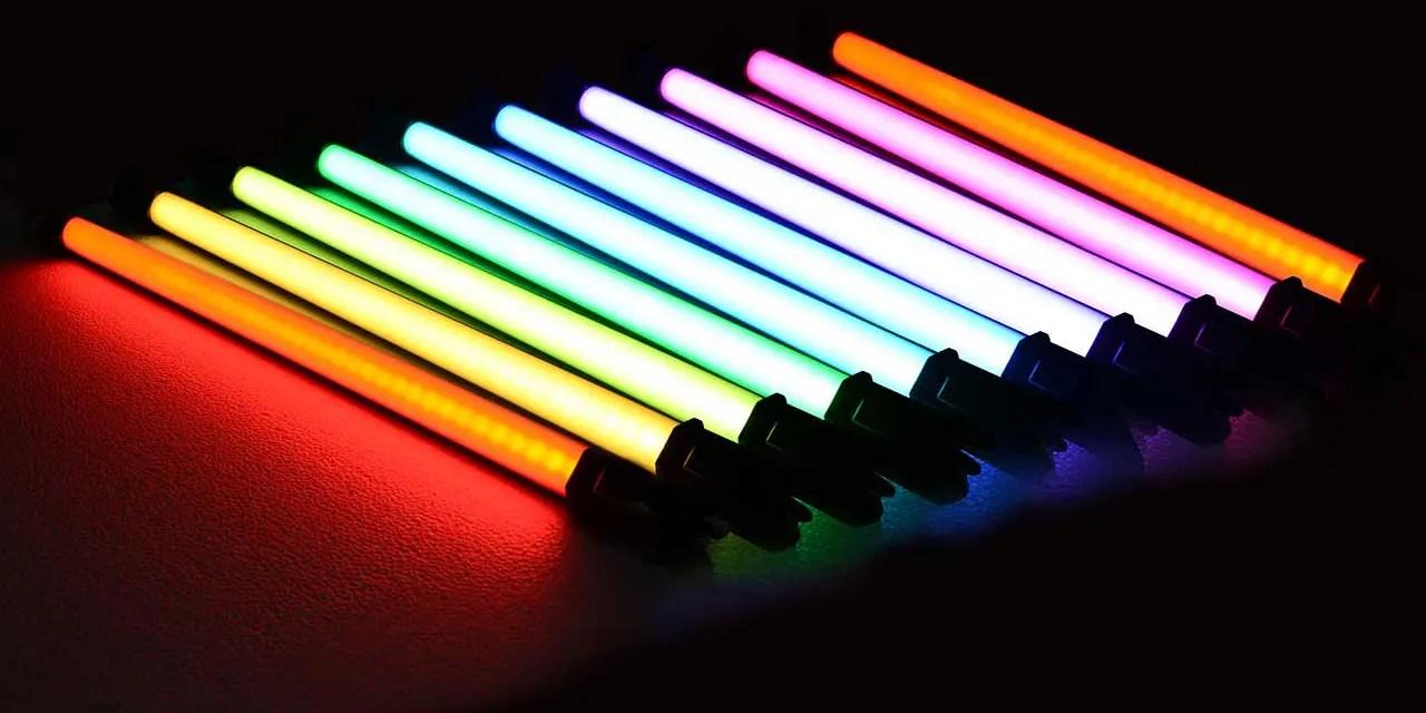 NanGuang launches new RGB tube lights