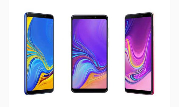 Samsung Galaxy A9 smartphone debuts first quad-camera setup