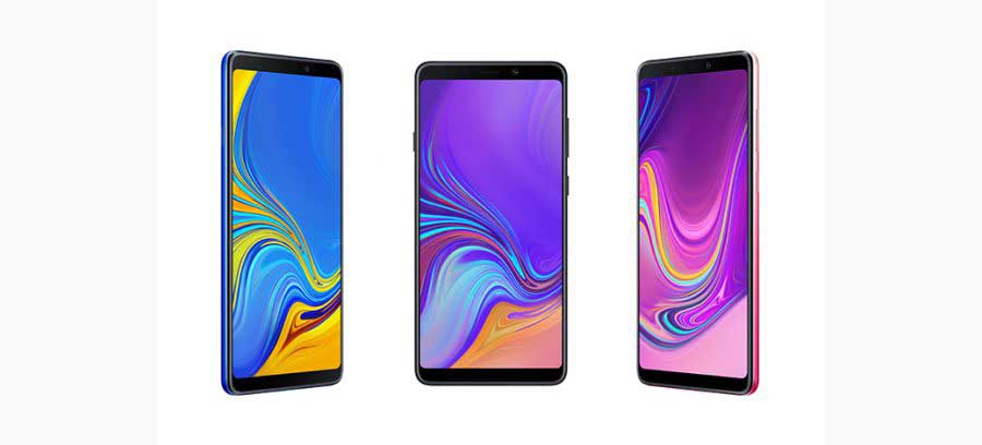 Samsung Galaxy A9 smartphone debuts first quad-camera setup
