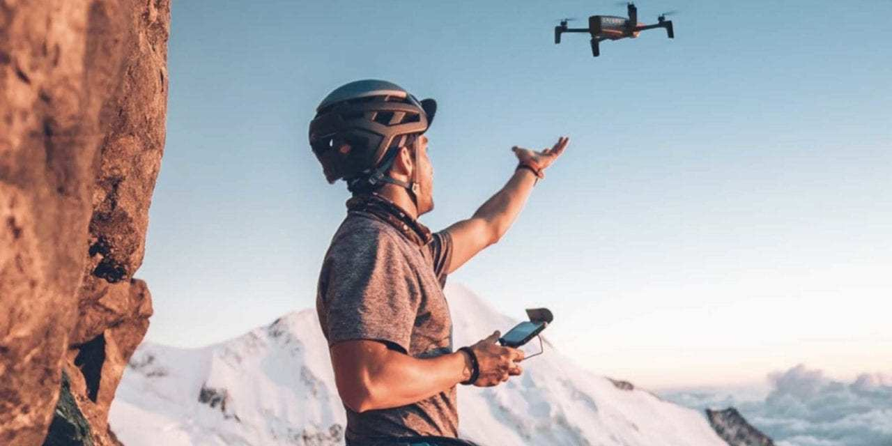 Parrot release Extended version of the ANAFI drone