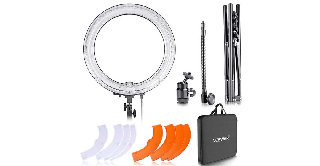 Neewer Dimmable 18-inch LED ring light