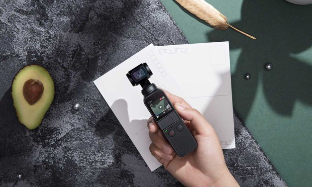 DJI OSMO Pocket ultra compact stabilised camera announced