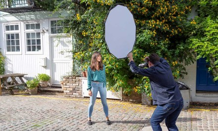 All new ultra light reflector/diffuser from Lastolite