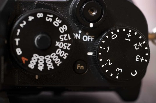 How to set exposure on Fujifilm X-T-series cameras