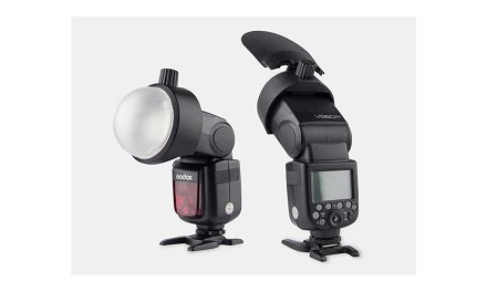 Godox unveils S-R1 Adapter for mounting round magnetic modifiers to standard flashguns