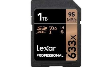 Lexar unveils 1TB SDXC card