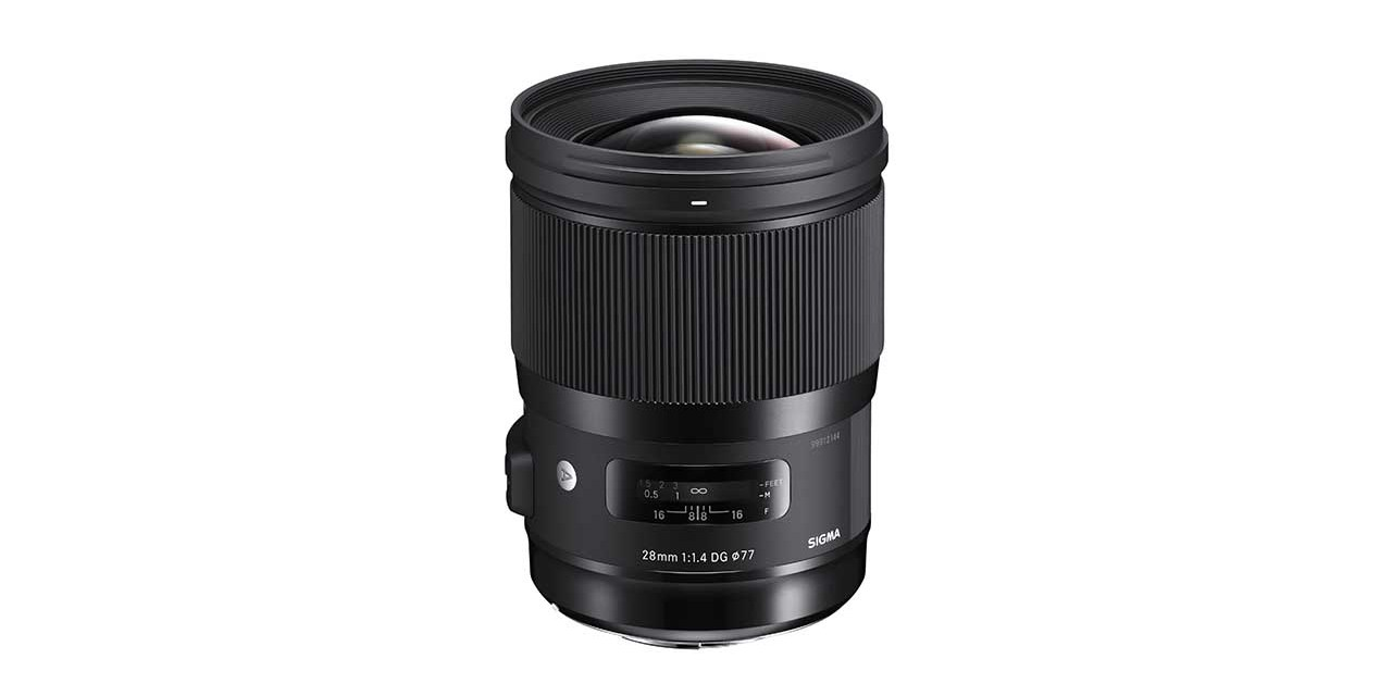 Sigma confirms 28mm f/1.4 DG HSM Art lens price tag