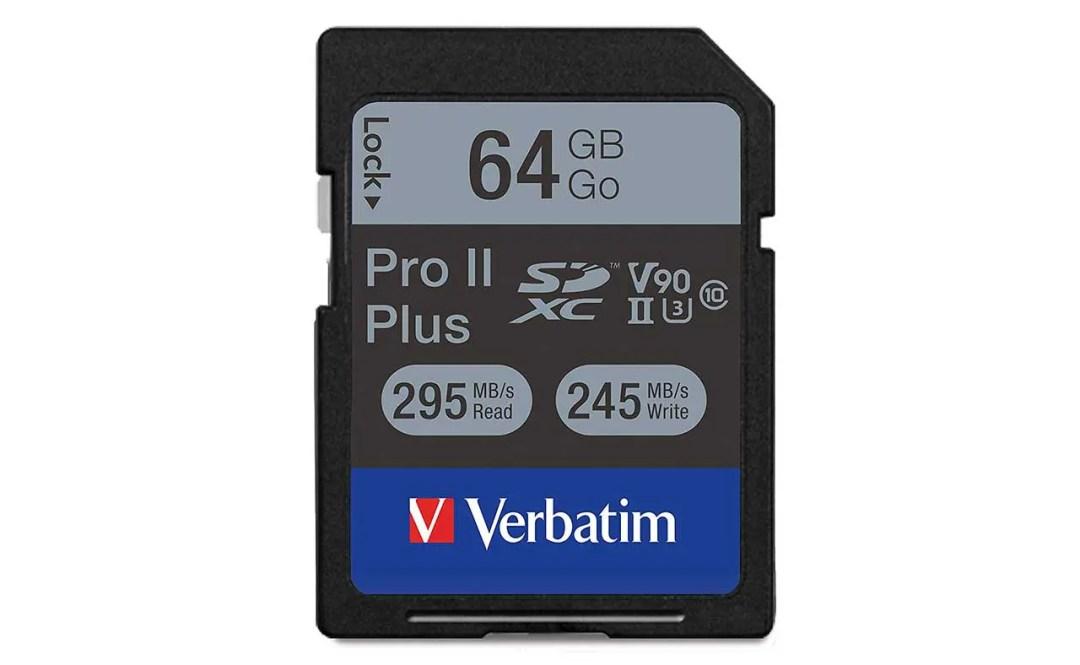 Verbatim 64GB Pro II Plus