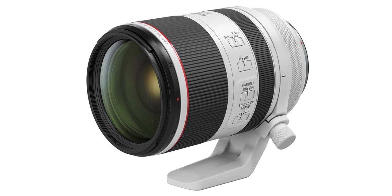 Canon to release six new RF mount lenses in 2019