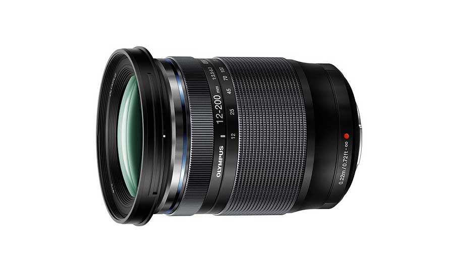 Olympus unveils 12-200mm f/3.5-6.3 with 16.6x magnification