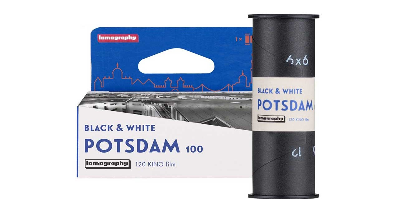 Lomography launches medium format B&W 100 Potsdam Kino Film