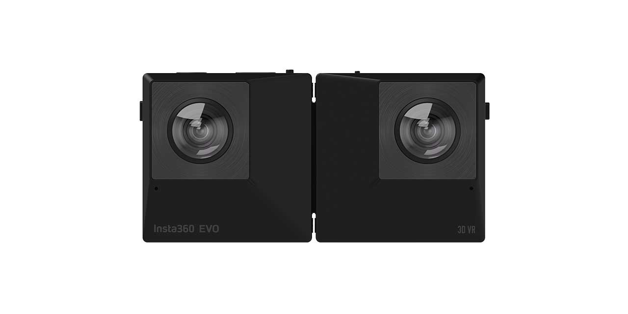 Insta360 EVO is a foldable camera that shoots 360, 180 3D
