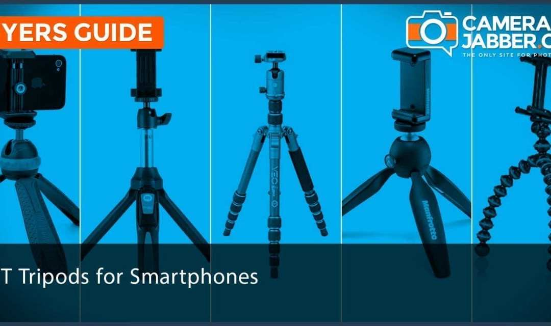 Best tripods for smartphones