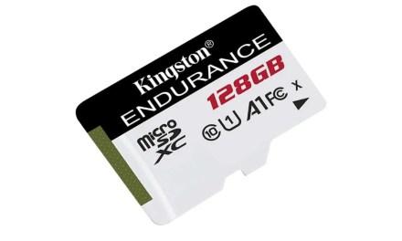 Kingston releases High Endurance MicroSD range