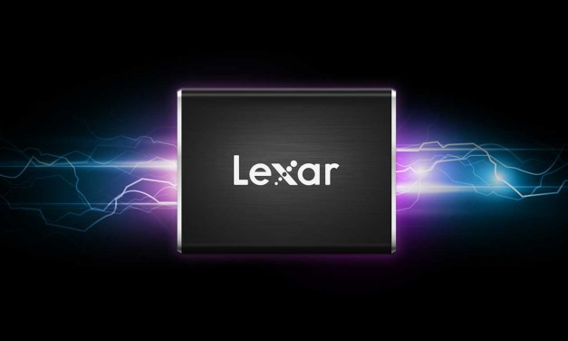 Lexar launches Professional SL100 Pro Portable SSD