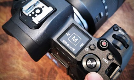 How to switch from stills to video on the Canon EOS R