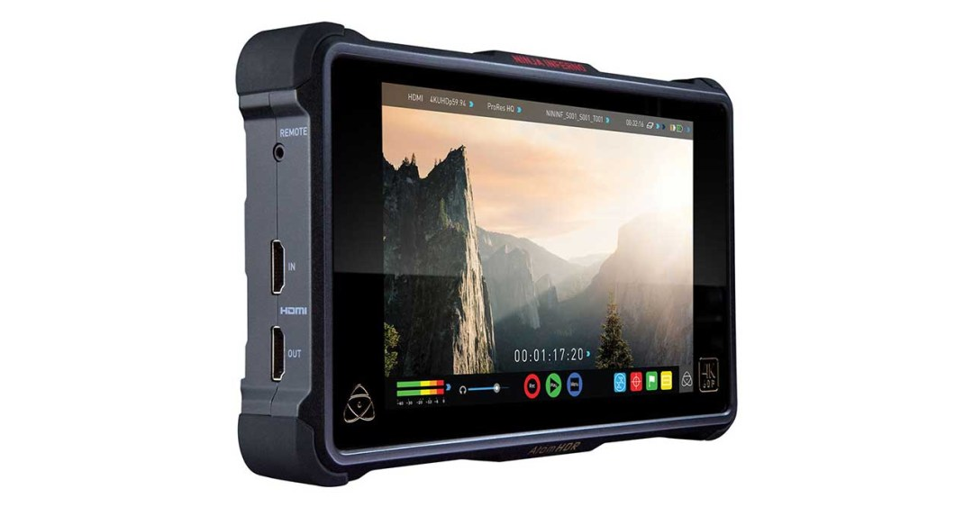 Best external camera monitors and recorders for shooting video: Atomos Ninja Inferno