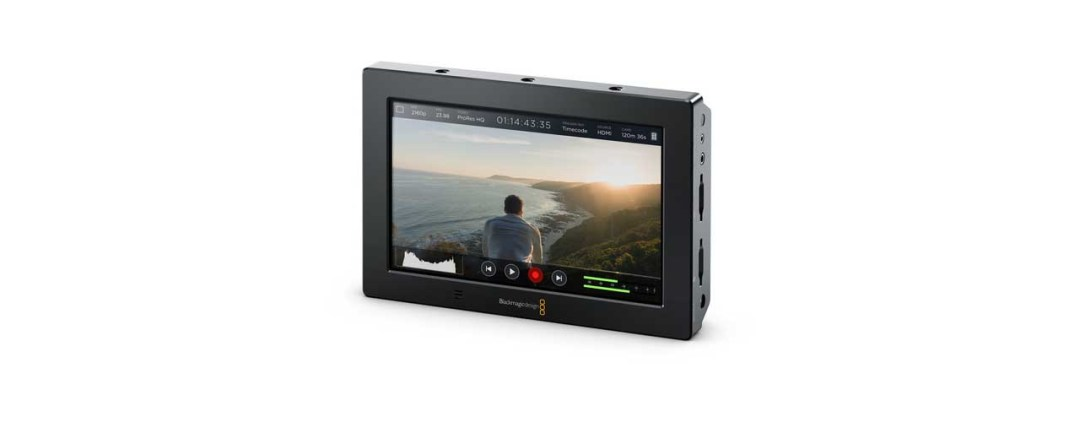 Best external camera monitors and recorders for shooting video: Blackmagic Video Assist 4K