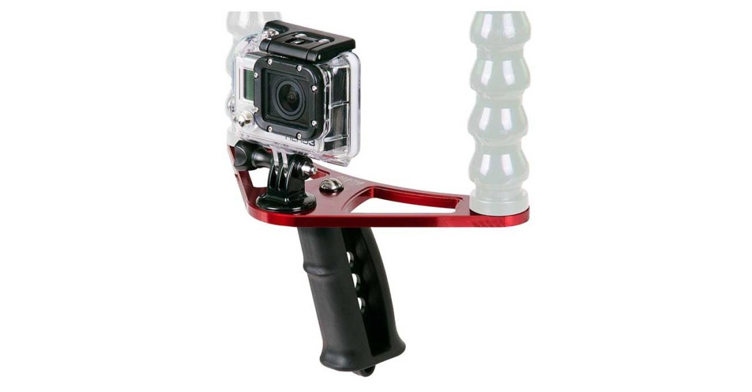Best GoPro lighting rigs: Ikelite Steady Tray and Pistol Grip