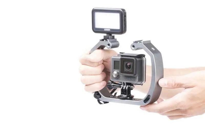 Best GoPro lighting rigs: Sevenoak SK-GHA6 Camera Cage for GoPro