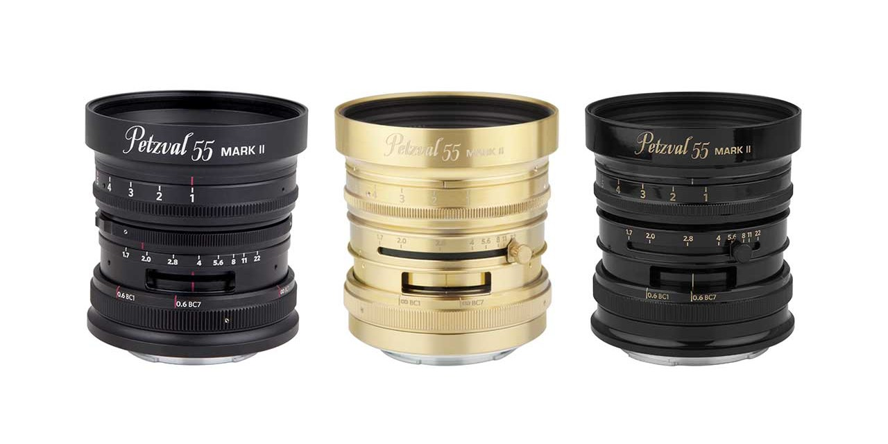 Lomography launches Petzval 55mm f/1.7 for Nikon Z, Canon RF, Sony E mounts