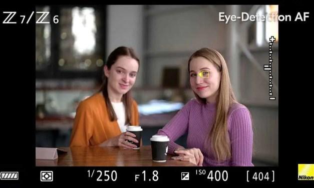 Nikon firmware adds Eye-Detection AF, extended low-light AF to Z6, Z7