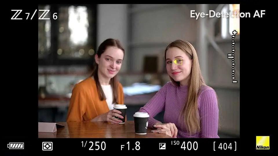 How to use Nikon Eye-Detection AF on the Nikon Z7 / Z6
