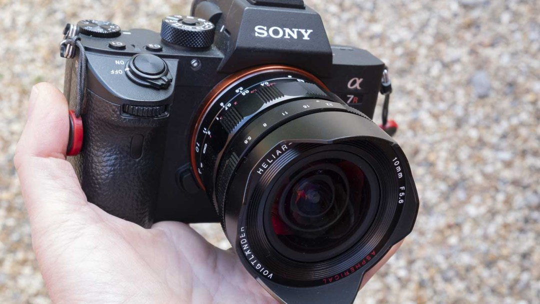 Sony A7R III with Voigtlander 10mm f5.6 E-Mount Hyper Wide Heliar Aspherical