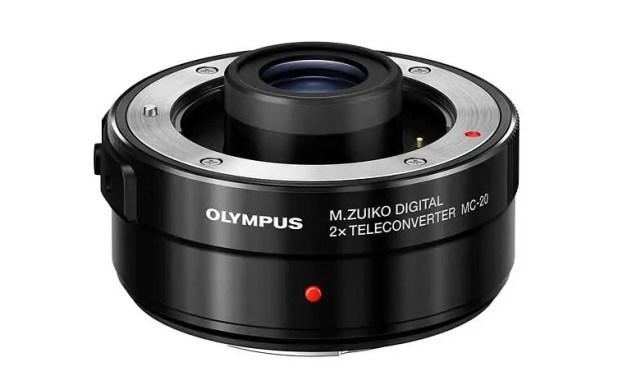 Olympus launches M.Zuiko Digital 2x Teleconverter MC-20