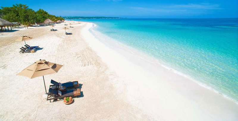 Пляжи Негрила - Ямайка