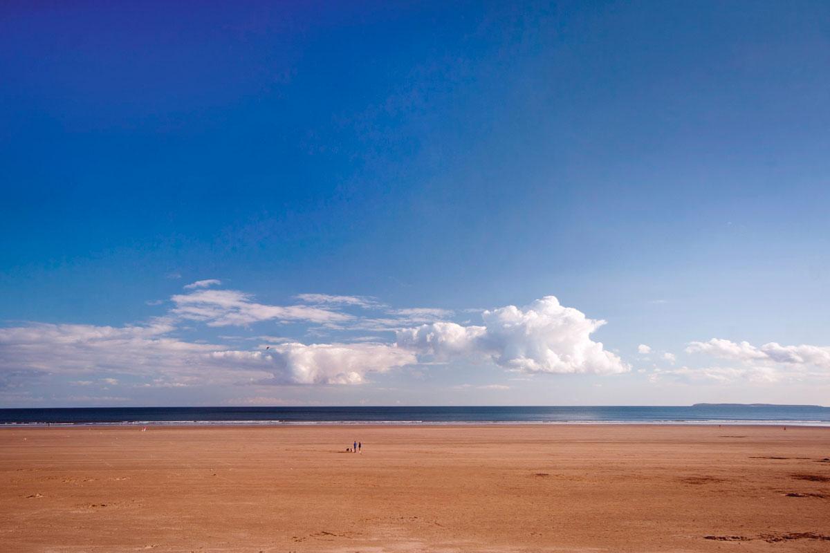 Пендайн Сэндс (Pendine Sands) - Уэльс