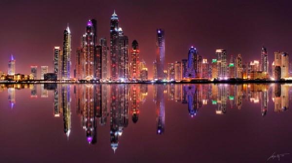 Ночные города - 28 красивых фотографий