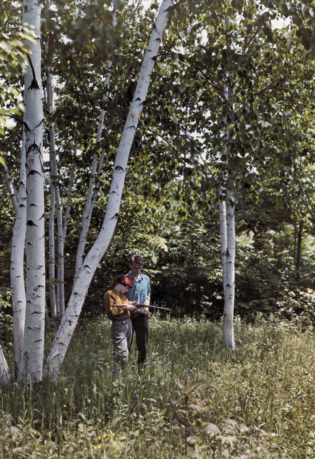 США в начале ХХ века - 50 цветных автохромных фотографий - 10