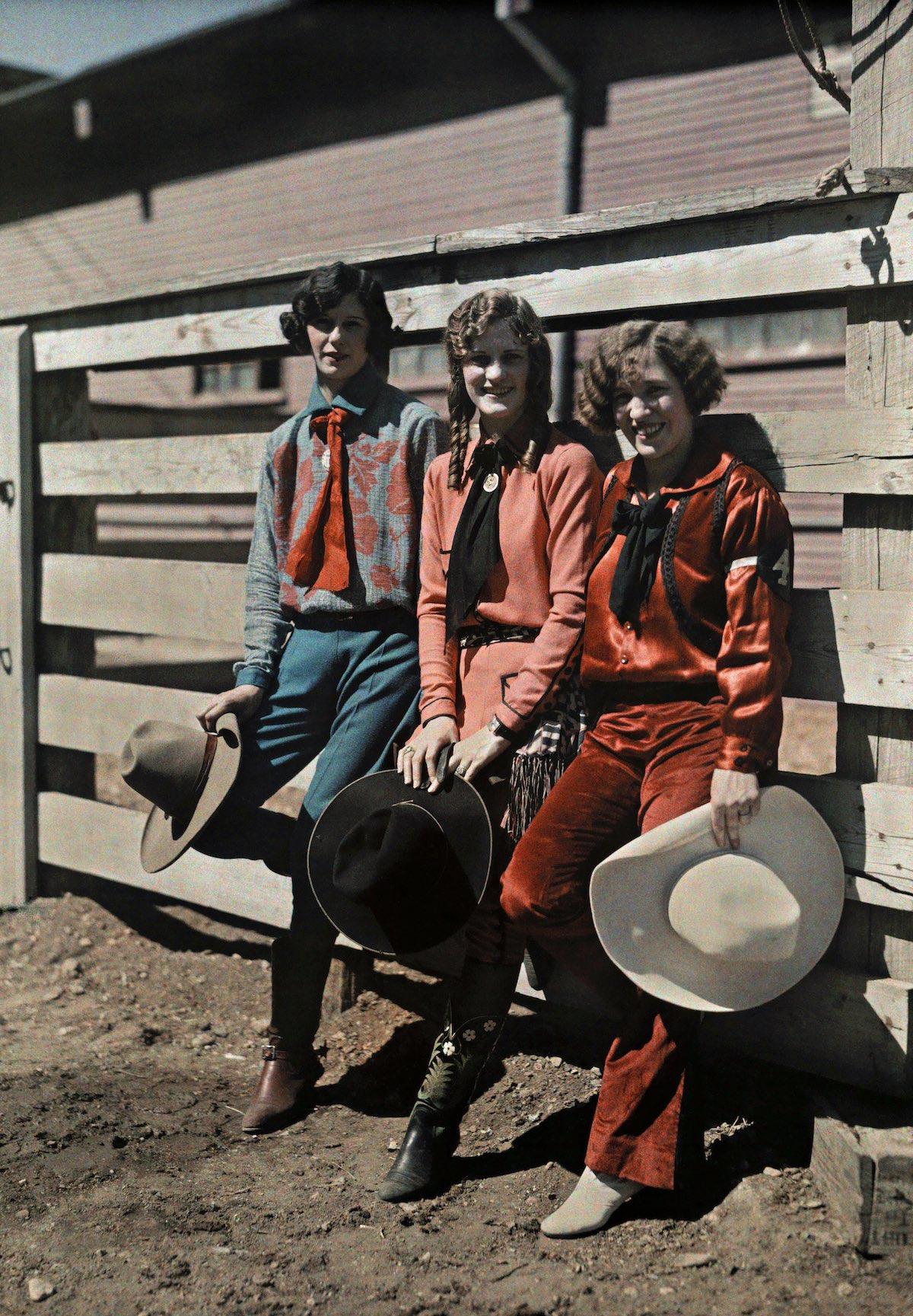 США в начале ХХ века - 50 цветных автохромных фотографий - 15