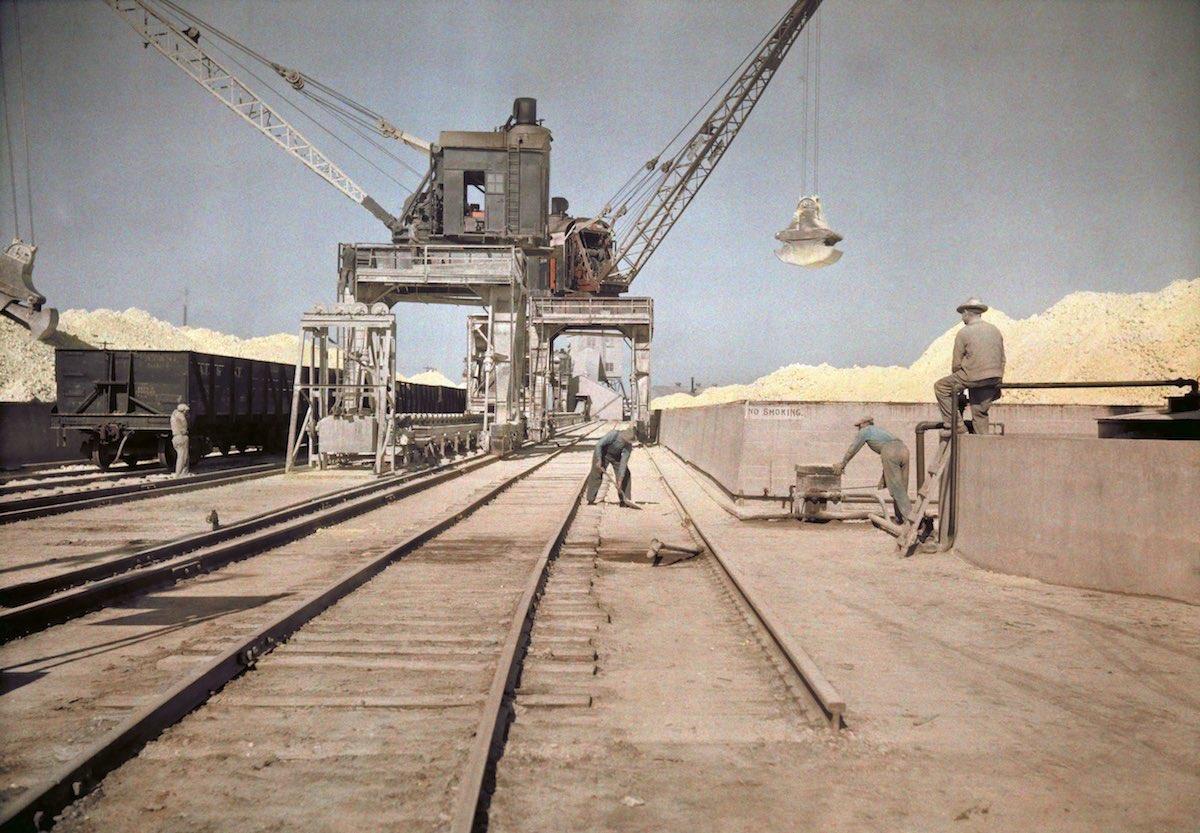 США в начале ХХ века - 50 цветных автохромных фотографий - 17