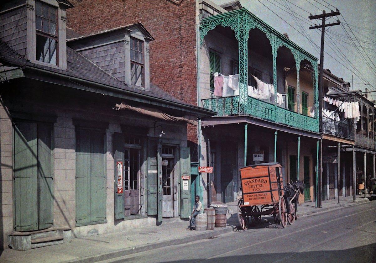 США в начале ХХ века - 50 цветных автохромных фотографий - 23