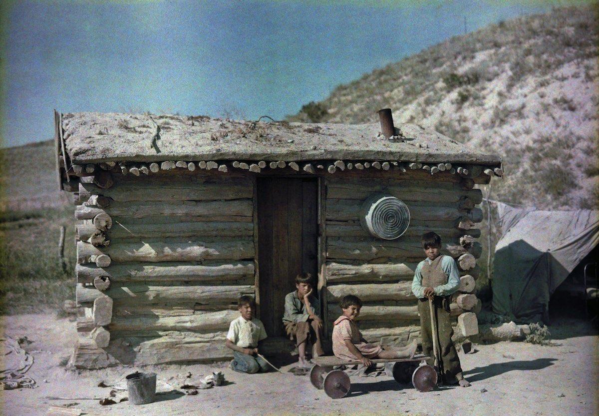 США в начале ХХ века - 50 цветных автохромных фотографий - 29