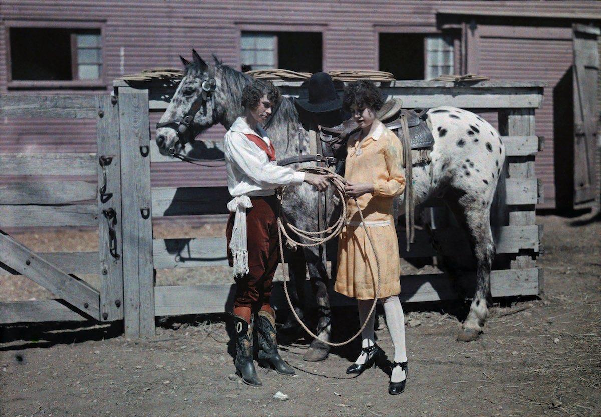 США в начале ХХ века - 50 цветных автохромных фотографий - 30