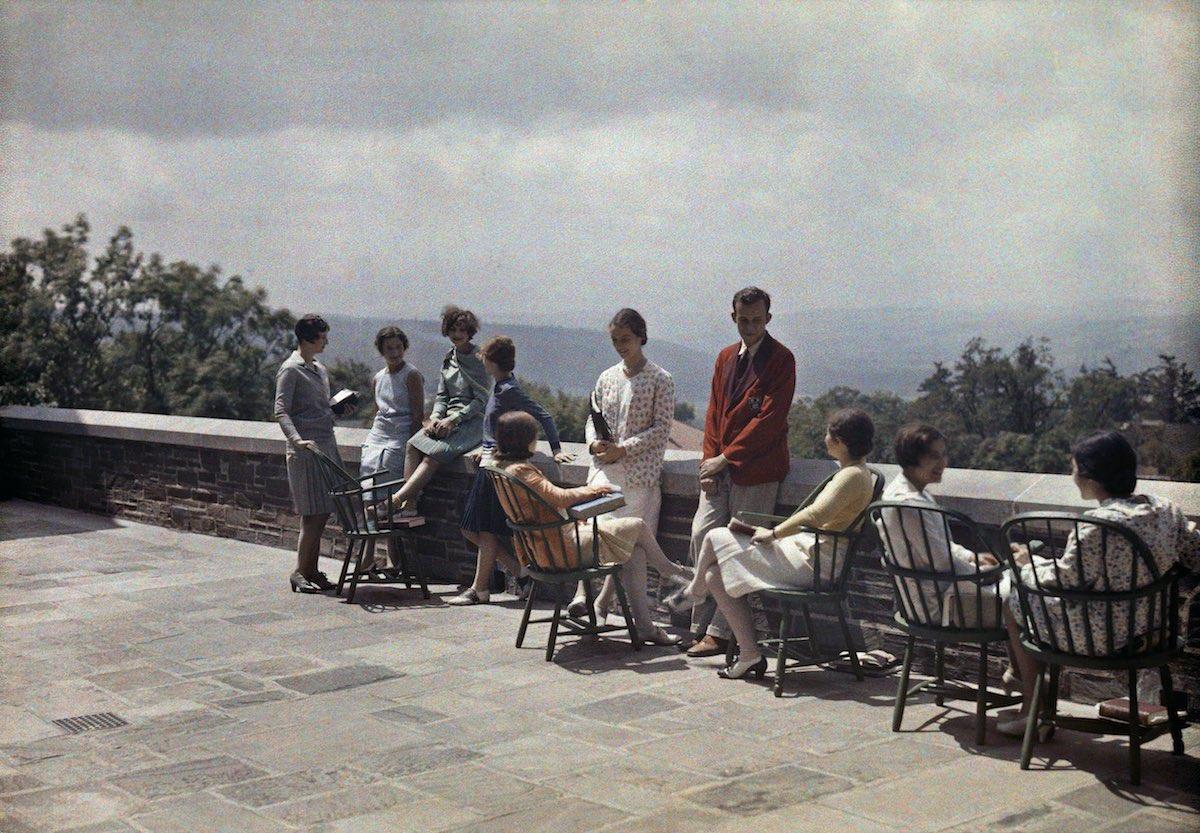США в начале ХХ века - 50 цветных автохромных фотографий - 34