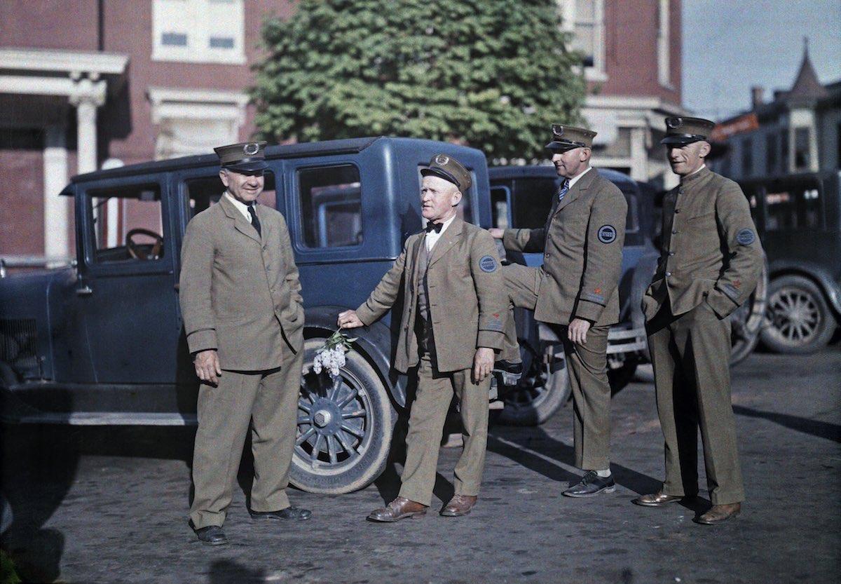 США в начале ХХ века - 50 цветных автохромных фотографий - 37