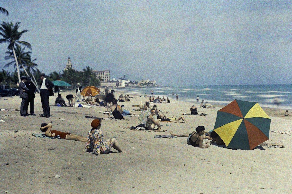 США в начале ХХ века - 50 цветных автохромных фотографий - 42