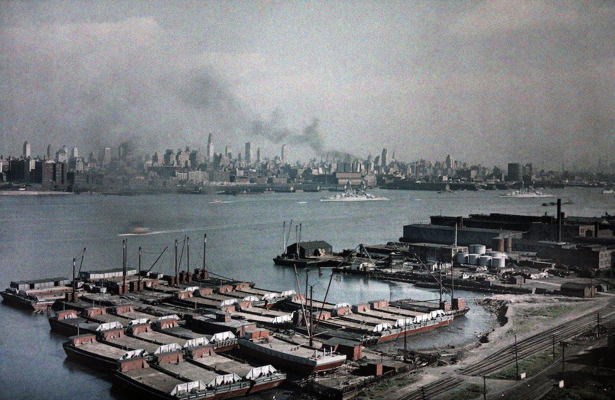 США в начале ХХ века - 50 цветных автохромных фотографий - 48