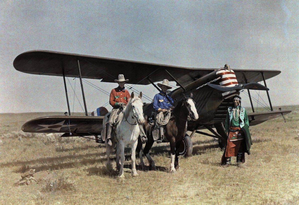 США в начале ХХ века - 50 цветных автохромных фотографий - 6