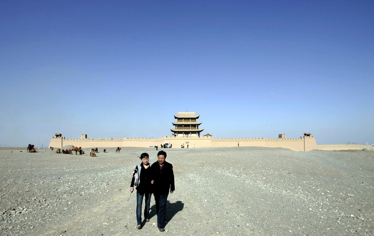 Peyzazhnye fotografii Gansu Kitay 22